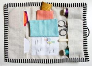 Sewing Kit Organizer FREE Tutorial
