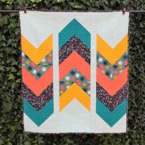 Arrows Away Quilt Free Pattern
