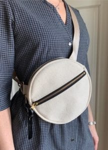 Circle Fanny Pack FREE Sewing Tutorial