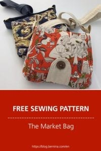 Market Bag FREE Sewing Pattern