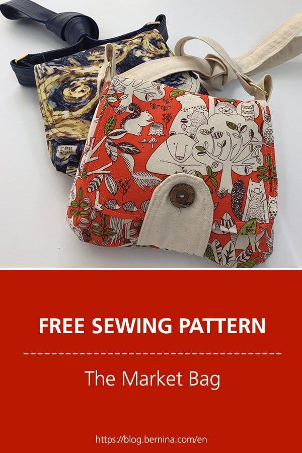 Market Bag FREE Sewing  Pattern