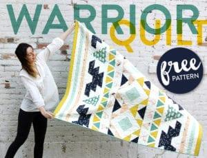 Warrior Quilt FREE Pattern