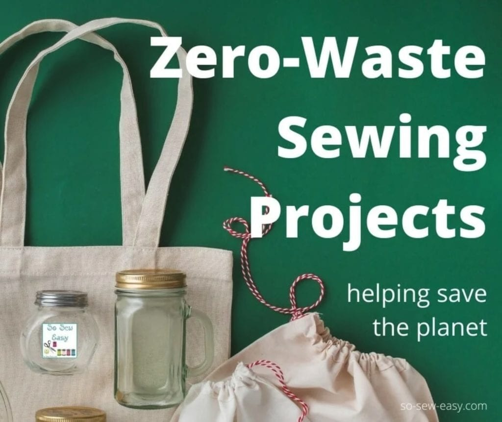 Zero-Waste FREE Sewing Projects