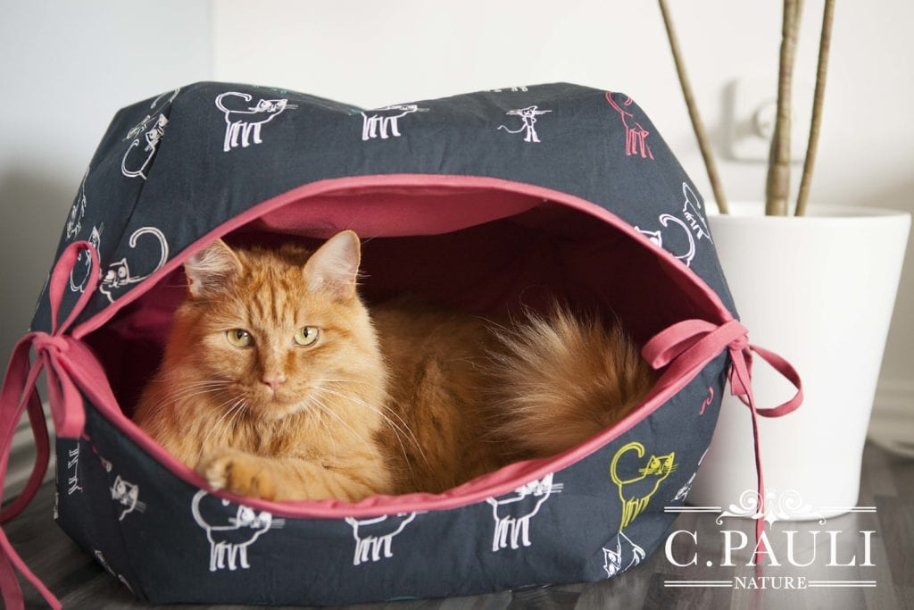 Cat Cave FREE Sewing Pattern