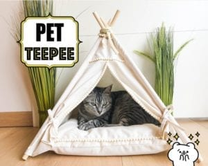 DIY Pet Teepee FREE Tutorial