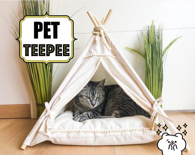 DIY Pet Teepee FREE Tutorial