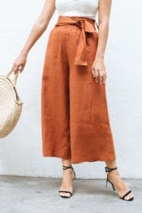 Wide Leg Pants FREE Sewing Tutorial