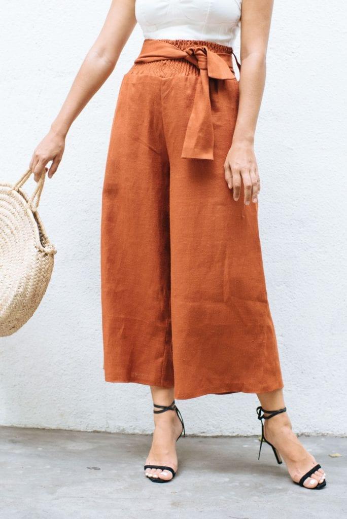 Wide Leg Pants FREE Sewing Tutorial