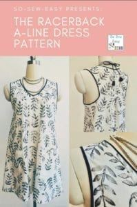 Racerback A-Line Dress FREE Sewing Pattern