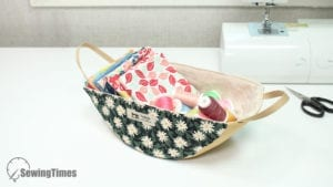 Swing Fabric Basket FREE Sewing Pattern