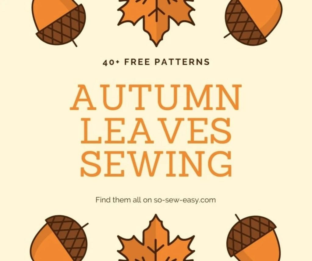 Autumn Leaves Sewing Projects