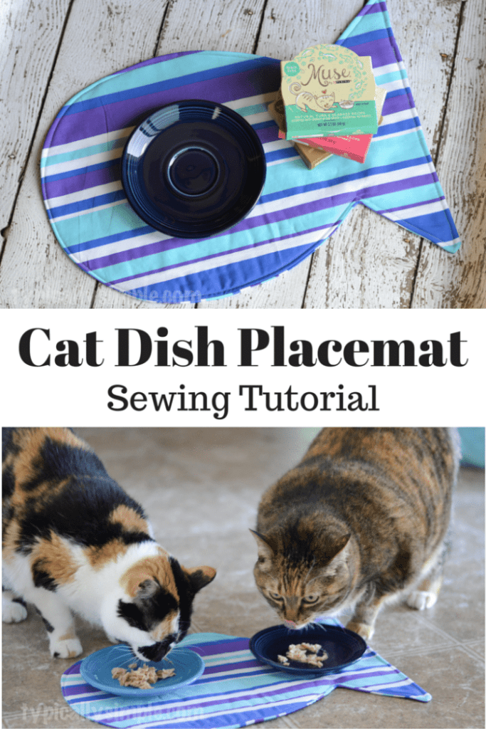 Cat Dish Placement FREE Sewing Tutorial