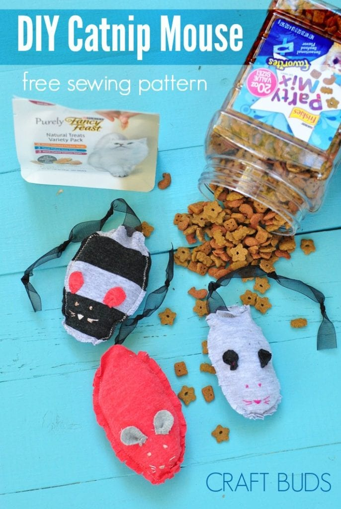 Catnip Mouse FREE Sewing Tutorial