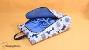 Shoe Bag FREE Sewing Tutorial