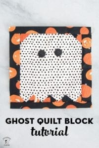 Ghost Quilt Block FREE Tutorial