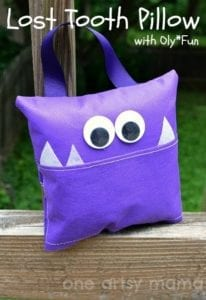 Tooth Fairy Pillow FREE Sewing Tutorial