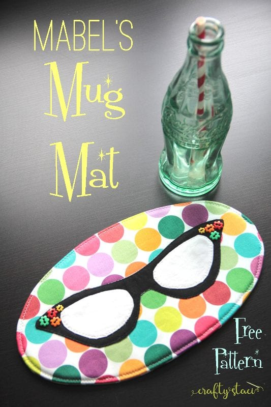 Mug Mat FREE Sewing Pattern