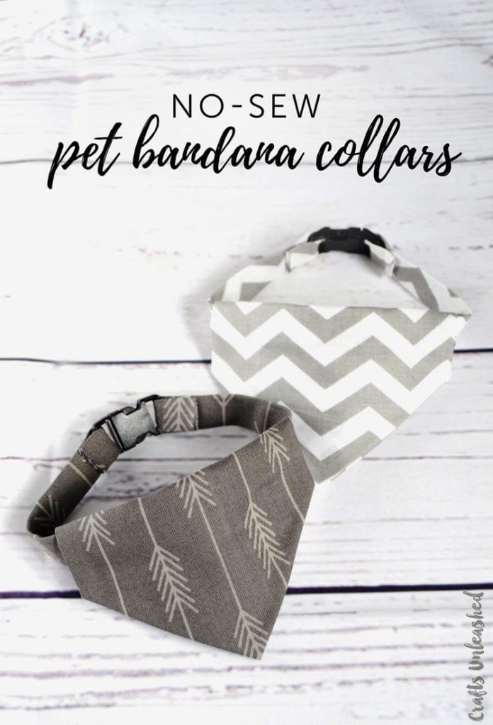 Pet Bandana Collars
