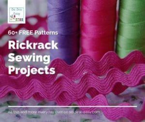 Rickrack Sewing Projects