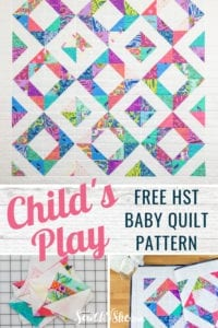 Baby Quilt FREE Pattern
