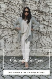 Cascade Cardigan FREE Sewing Pattern