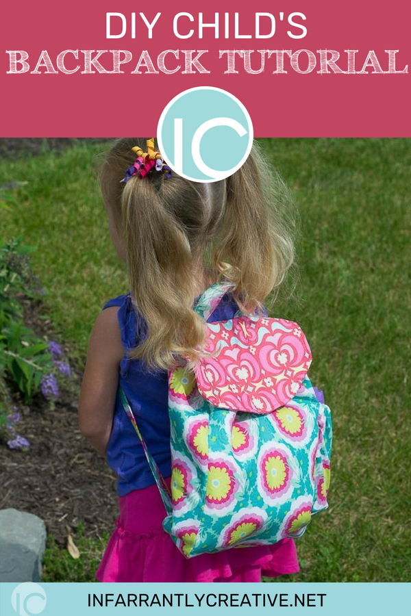 Children Backpack FREE Sewing Tutorial