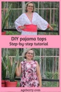 DIY Pajama Tops FREE Sewing Tutorial