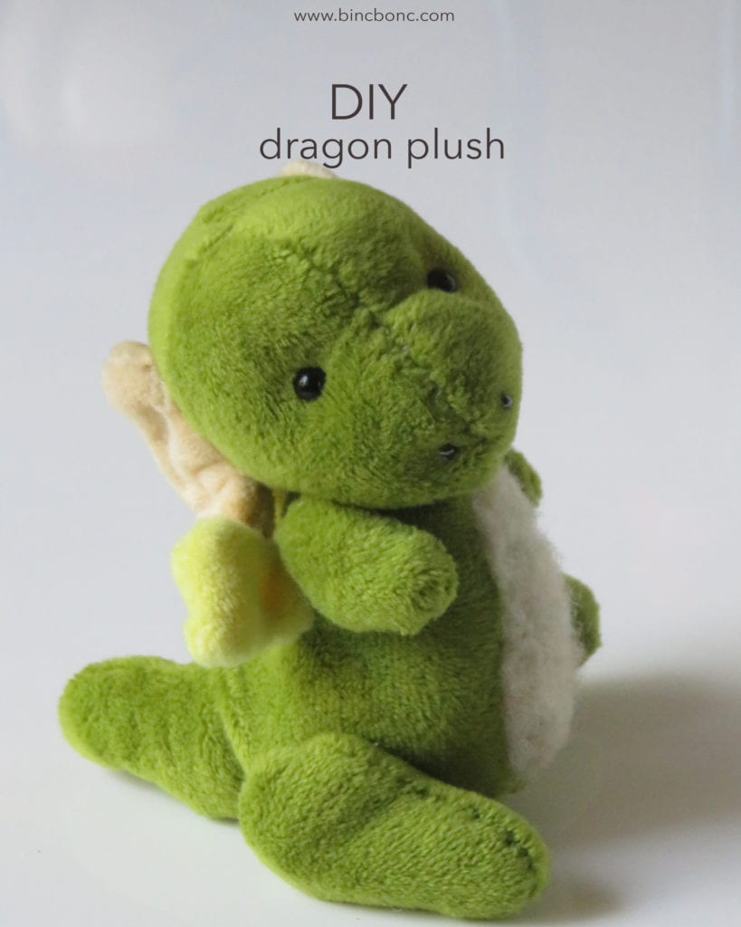 Dragon Plush FREE Sewing Pattern
