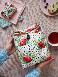 Fabric Lunch Bag FREE Sewing Tutorial