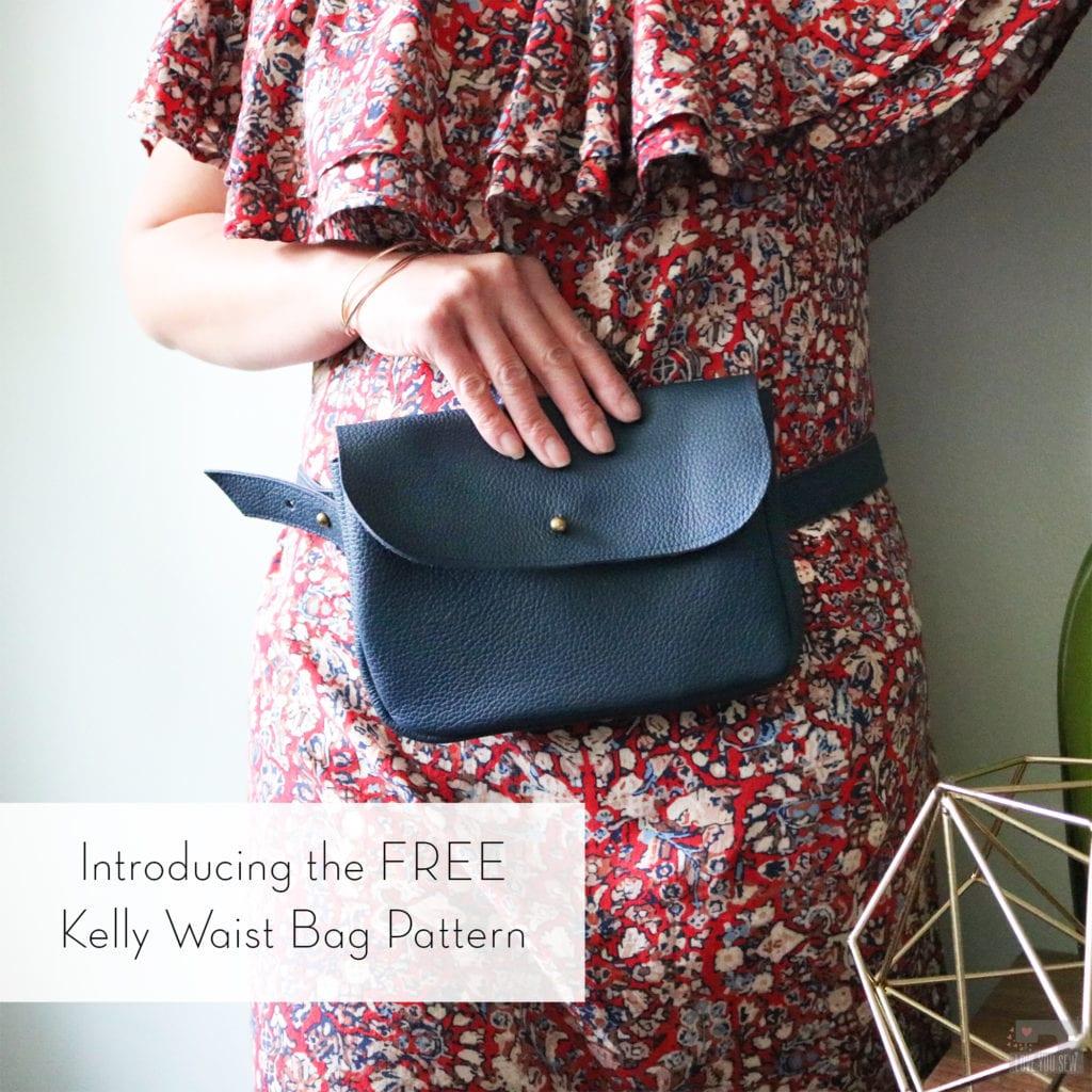 Kelly Waist Bag FREE Sewing Pattern