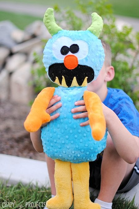 Monster Stuffed Animal FREE Sewing Pattern