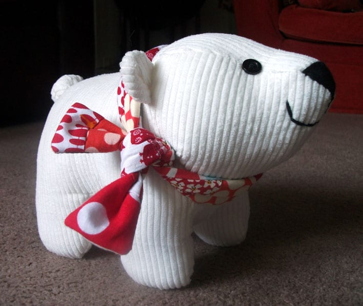 Polar Bear FREE Sewing Pattern