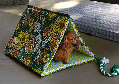 Puppy Hut FREE Sewing Tutorial
