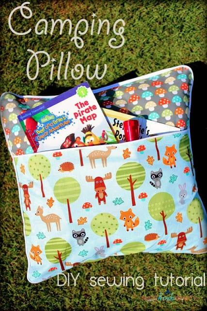 Camping Pillow FREE Sewing Tutorial