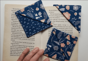 Fabric Book Marks FREE Sewing Tutorial