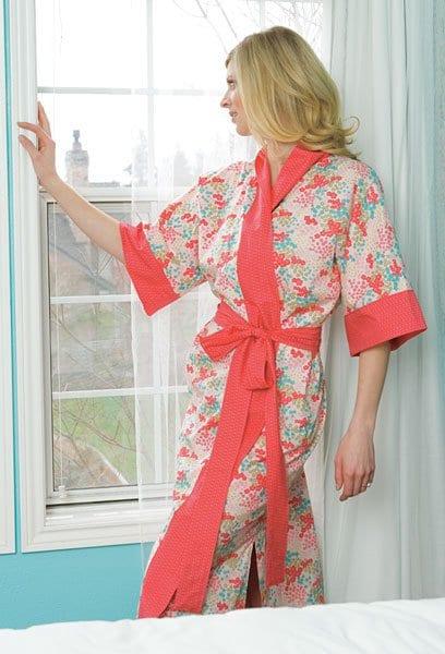 Lawn Kimono Robe FREE Sewing Tutorial