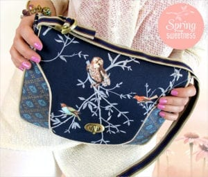 Quilted Front Flap Purse FREE Sewing Pattern