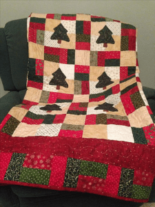 Scrappy Christmas Quilt FREE Pattern