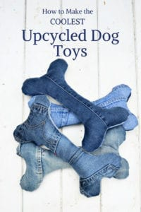 Upcycled Dog Toys FREE Sewing Pattern