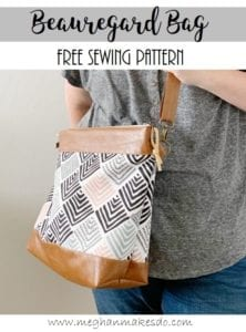 Beauregard Bag FREE Sewing Tutorial