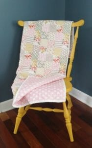 Cheater Baby Quilt FREE Tutorial
