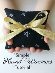 Hand Warmer FREE Sewing Tutorial