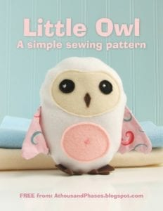 Little Owl FREE Sewing Pattern