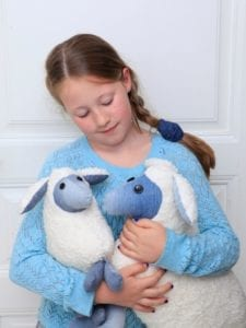 Plush Sheep FREE Sewing Pattern