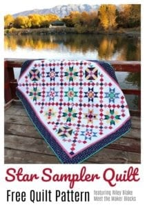 Star Sampler Quilt FREE Tutorial