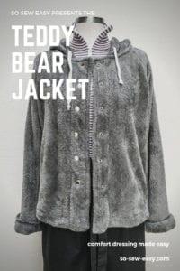 Teddy Bear Jacket FREE Sewing Pattern
