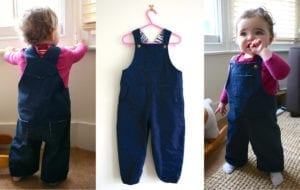 Toddler Dungarees FREE Sewing Pattern