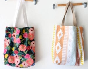Tote Bag FREE Sewing Tutorial
