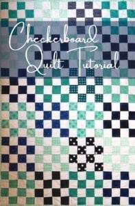 Checkerboard Quilt Block Free Tutorial