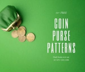 FREE Coin Purse Sewing Patterns